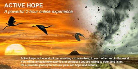 Active Hope Hong Kong Online Experience  (CANTONESE) - 20 Aug 2020 (FREE) tickets