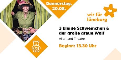 Theater im Kurpark - 3 kleine Schweinchen und der große graue Wolf Tickets