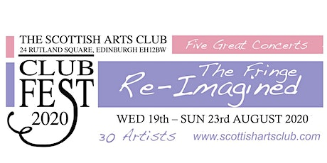 ClubFest 2020 by the Scottish Arts Club tickets
