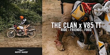 The Clan x V85 TT [Ride - Friends - Food] @ALPES AVENTURE MOTOFESTIVAL billets