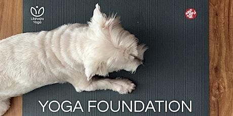 Yoga FoundationOnline Workshop tickets