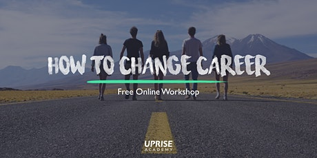 Online Workshop: How to Change Careers tickets