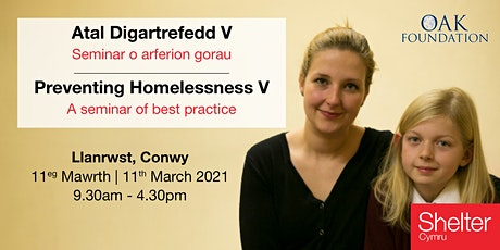 Preventing Homelessness V: A seminar of best practice (North Wales) tickets