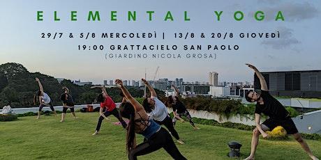 Elemental Yoga Nel Parco biglietti