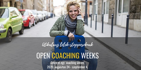 Open coaching weeks tickets