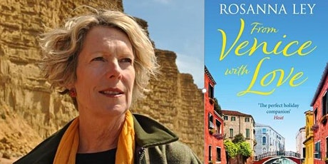 Rosanna Ley author talk  (via Zoom) tickets