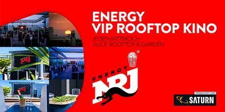 ENERGY VIP ROOFTOP KINO -  BAD BOYS FOR LIFE Tickets