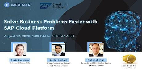 Solve Business Problems Faster with SAP Cloud Platform boletos