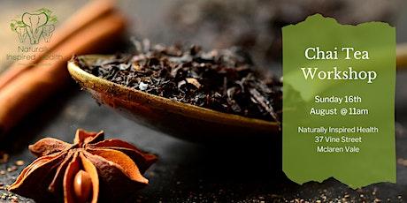 Chai Tea Workshop tickets