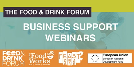 Scale Up for Food and Drink Businesses - Webinar tickets