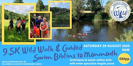 Biblins to Monmouth Guided Swim (9.5K ) tickets