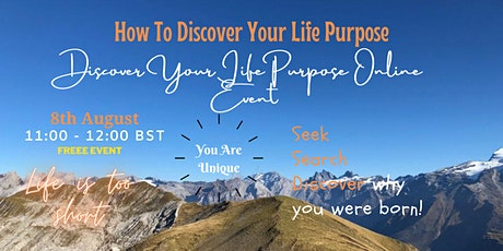 How To Discover Your Life Purpose tickets