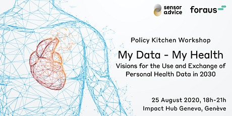 My Data - My Health: Policy Kitchen Workshop - Genève tickets