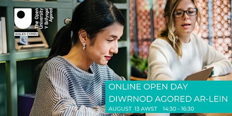 OU IN WALES ONLINE OPEN DAY | DIWRNOD AGORED AR-LEIN OU CYMRU Tickets