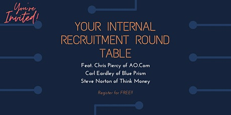 Virtual Internal Recruitment Round Table tickets