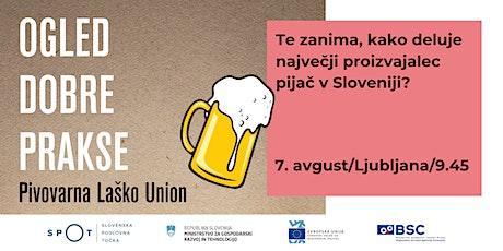Ogled dobre prakse: Pivovarna Laško Union tickets