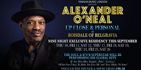 Alexander O'Neal : Up Close & Personal tickets
