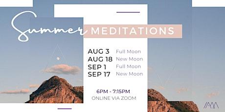 Summer Night Yoga-Meditations tickets