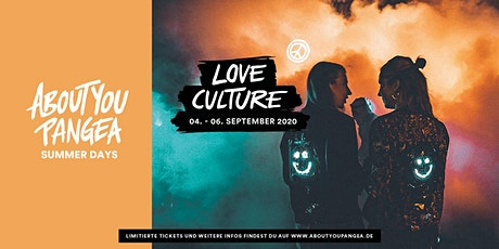 LOVE CULTURE - About You Pangea Summer Days Tickets