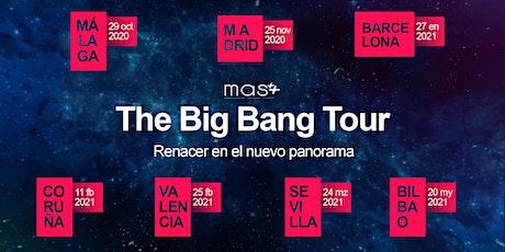 Big Bang Tour Málaga: Renacer en el nuevo panorama entradas