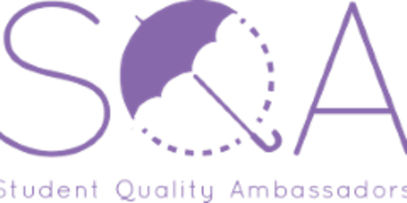 Do you want to become a Student Quality Ambassador (SQA)? tickets