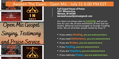 Awaken the Dawn Outreach at Lucerne Park (Pike Lake) Warsaw tickets