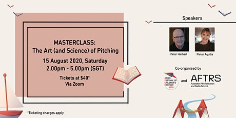 AFCC MASTERCLASS: The Art (and Science) of Pitching tickets