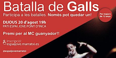 BATALLA DE GALLOS entradas
