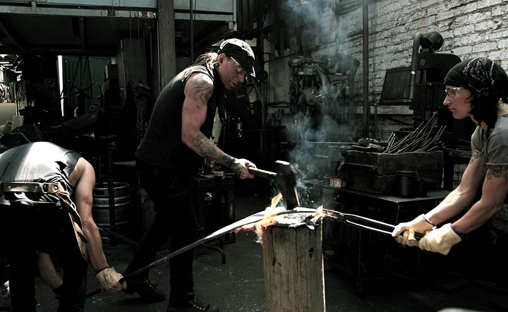 The Blacksmith's Blades: Introduction into Knife-Making — Aug 2021 image