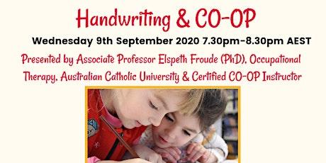 'Handwriting & The CO-OP Approach' by Assoc. Professor Elspeth Froude (PhD) tickets