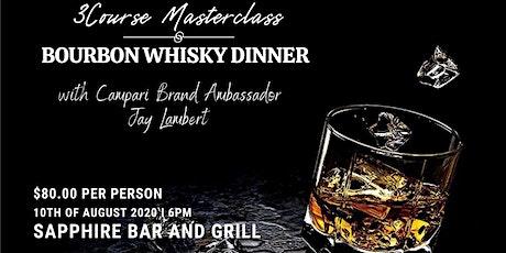 3 Course Masterclass Bourbon Whiskey Dinner entradas