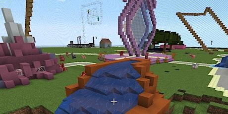 Online-Minecraft: Wir bauen einen Freizeitpark Tickets