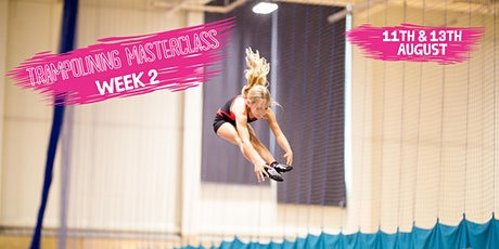 Guildford Trampoline Masterclass 11th & 13th August tickets