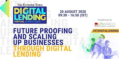 The Economic Times Digital Lending Virtual Summit 2020 tickets