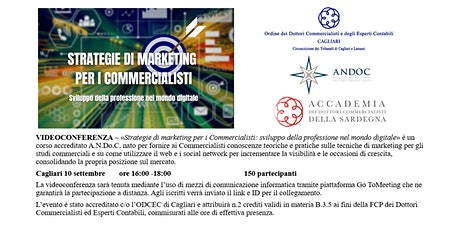 Strategie di marketing per i Commercialisti biglietti