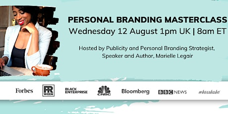 WEBINAR: 5 Personal Branding Strategies to Accelerate Your Career/Business tickets