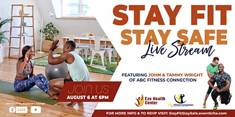 Stay Fit, Stay Safe Virtual Event tickets