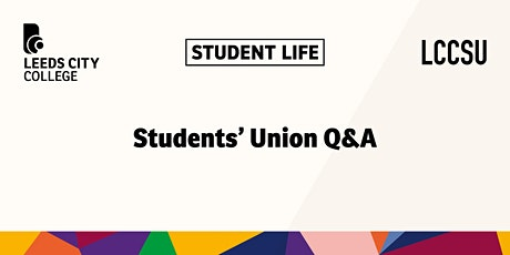 LCCSU New Students Q&A tickets