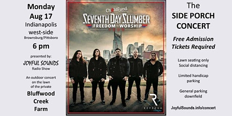 Side Porch Concert featuring Seventh Day Slumber tickets