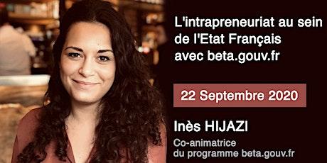L'intrapreneuriat au sein de l'état français avec beta.gouv.fr billets