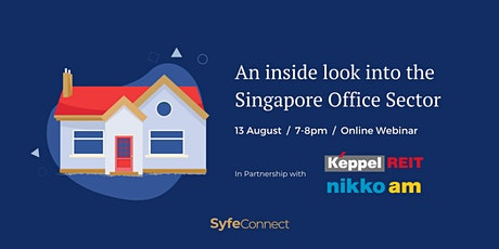 An Inside Look into the Singapore Office Sector with Keppel REIT & Nikko AM tickets