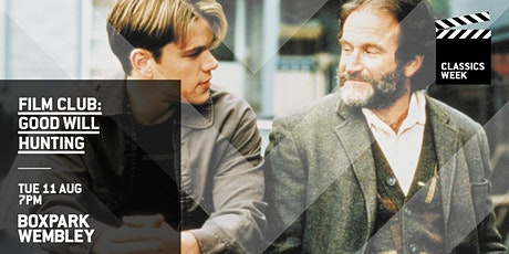 Film Club: Good Will Hunting (Boxpark Wembley) tickets
