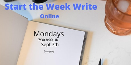Start the Week Write online - live journalling for your success tickets