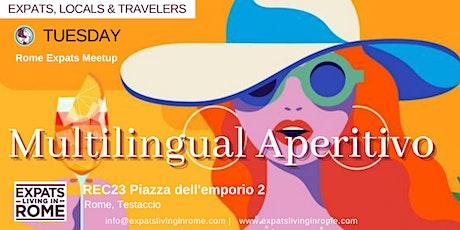 Multilingual Aperitivo - Make friends in Rome tickets