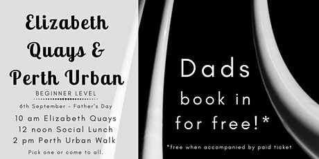 Perth City - Photo Walk - Father's Day tickets