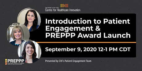 PE Lunchtime Learning: Intro to Patient Engagement & PREPPP Award Launch tickets