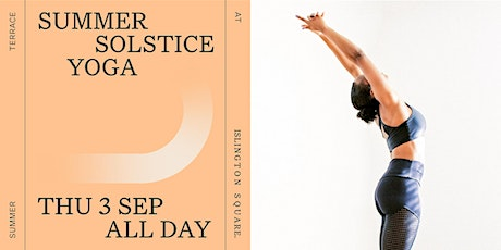 Summer Solstice Yoga: Third Space Takeover tickets