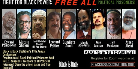 Fight for Black Power: Free All Political Prisoners! BIBC Annual Conference tickets