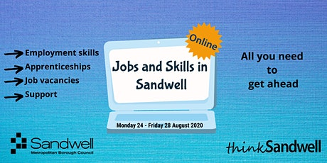 Jobs and Skills in Sandwell - Online tickets