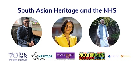 South Asian Heritage and the NHS tickets